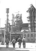 1957. október 19-én helyezték üzembe a II. számú nagyolvasztót