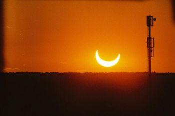 2003. május 31-én részleges napfogyatkozás volt