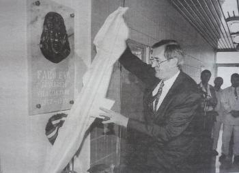 1996. július 12-én nevezték el Fabó Éváról a sportuszdát