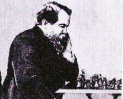 1836. május 17-én született Wilhelm Steinitz