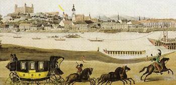 1752. szeptember 18-án indult el az első Bécs-Buda postakocsi járat