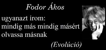 1945. május 17-én született Fodor Ákos